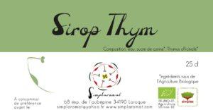 Sirop thym 2019